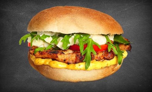 Chicken Deluxe Burger