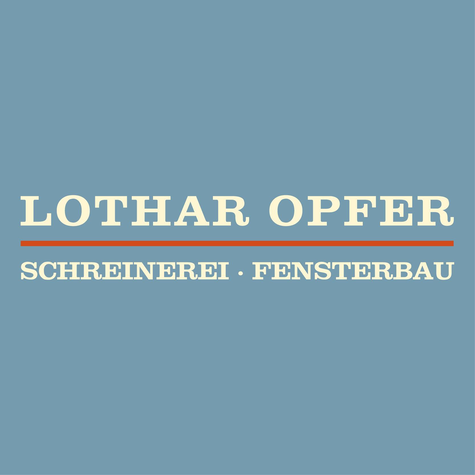 Lothar Opfer Fensterbau Schreinerei GmbH