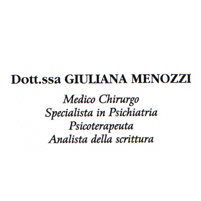 Menozzi Dott.ssa Giuliana