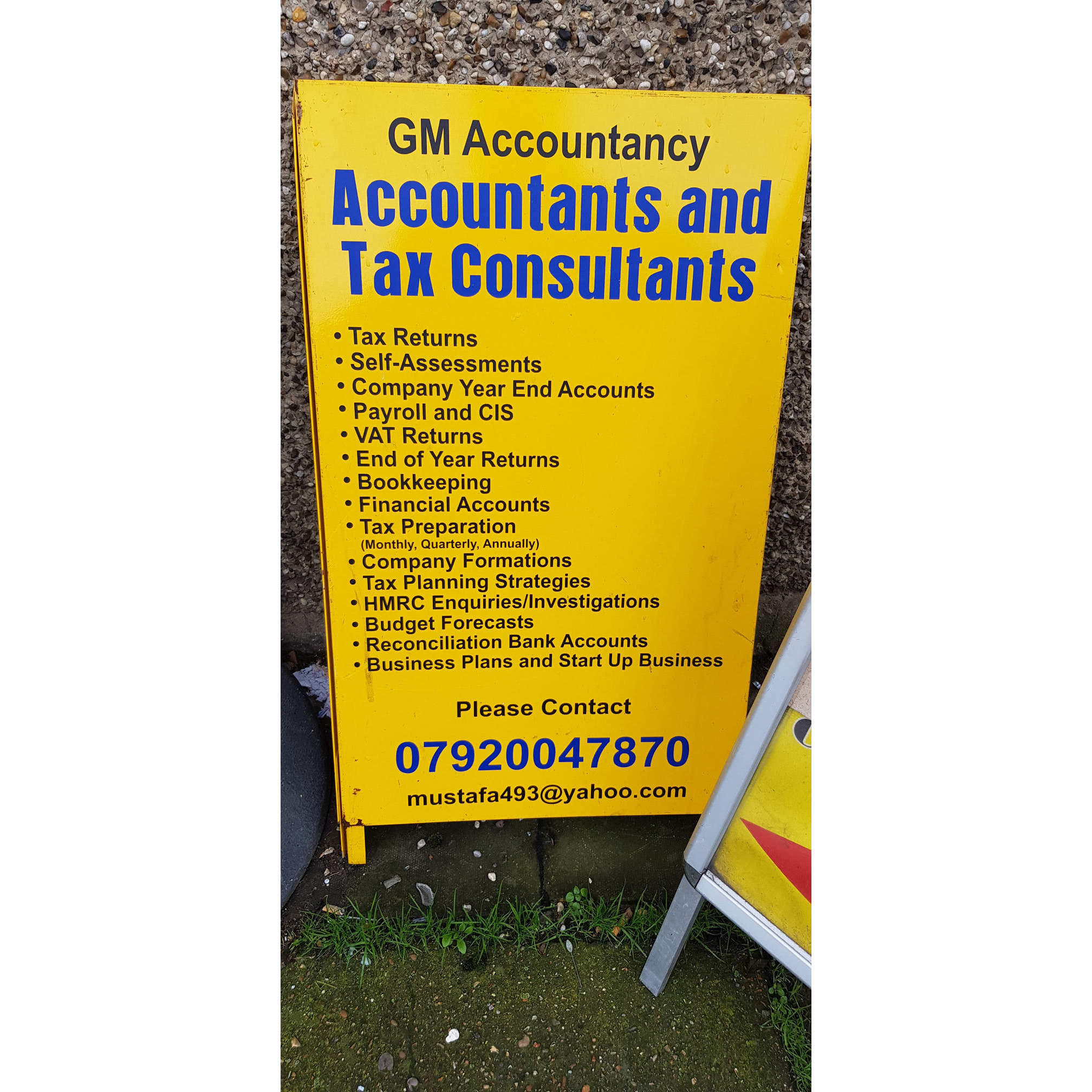 GM Accountancy UK Ltd - Ilford, London IG1 2JY - 07920 047870 | ShowMeLocal.com