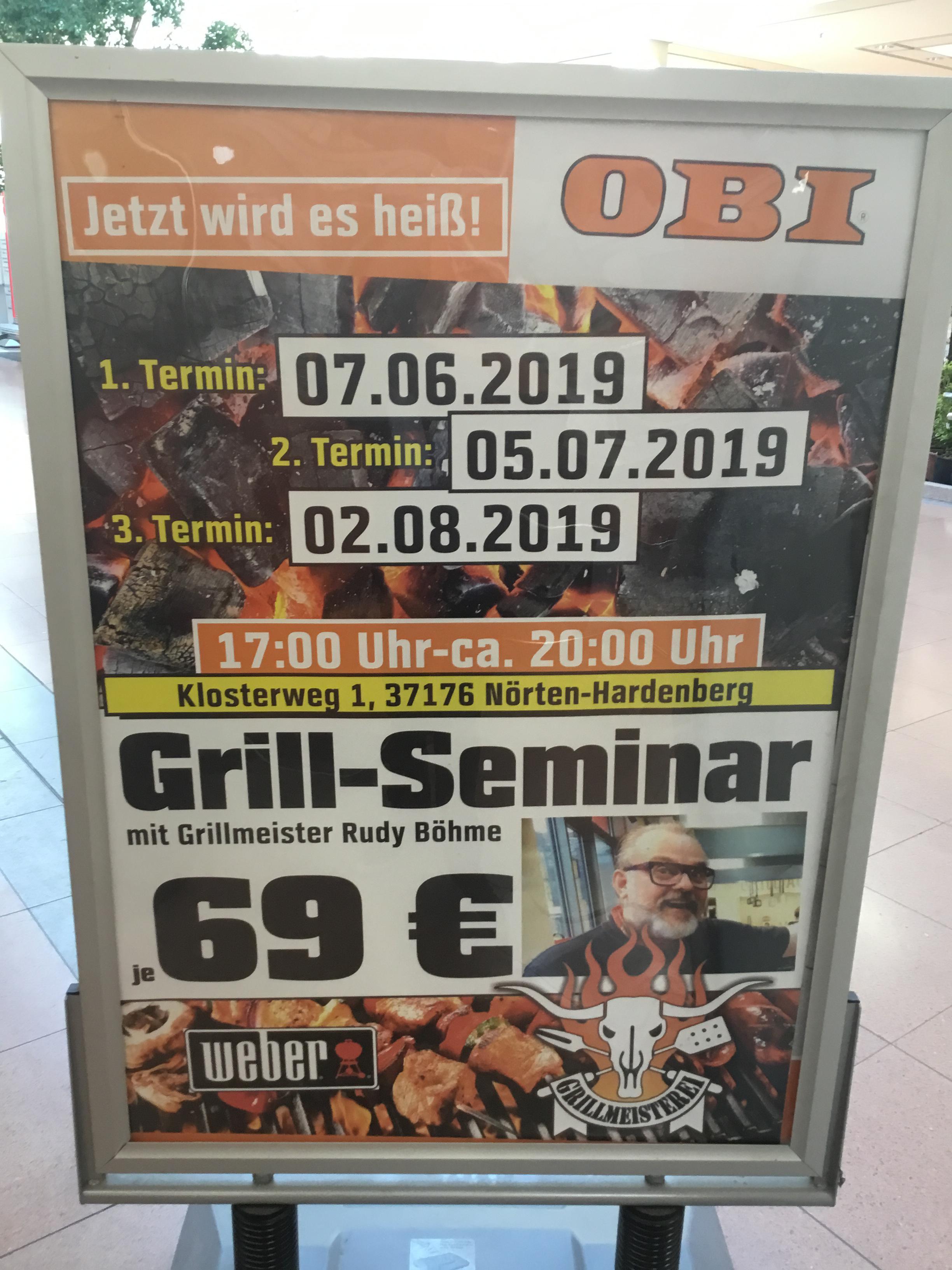 OBI Göttingen -Grillseminare-