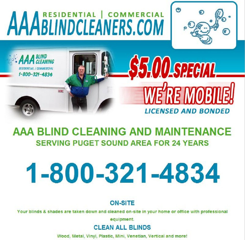 AAA BLIND CLEANERS