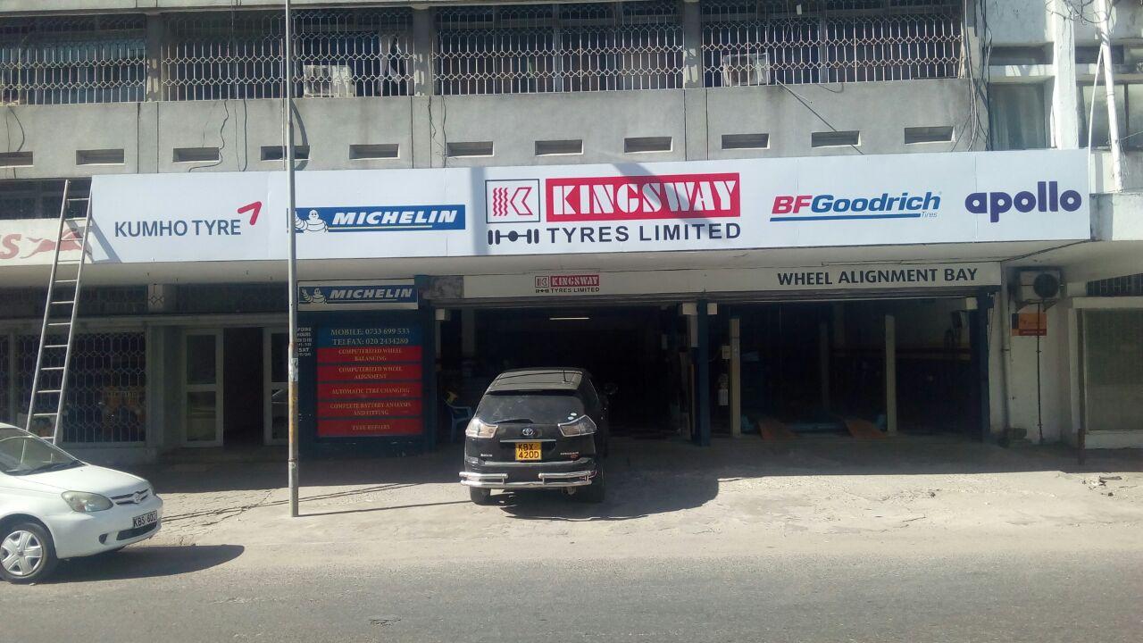 Kingsway Tyres - Moi Avenue