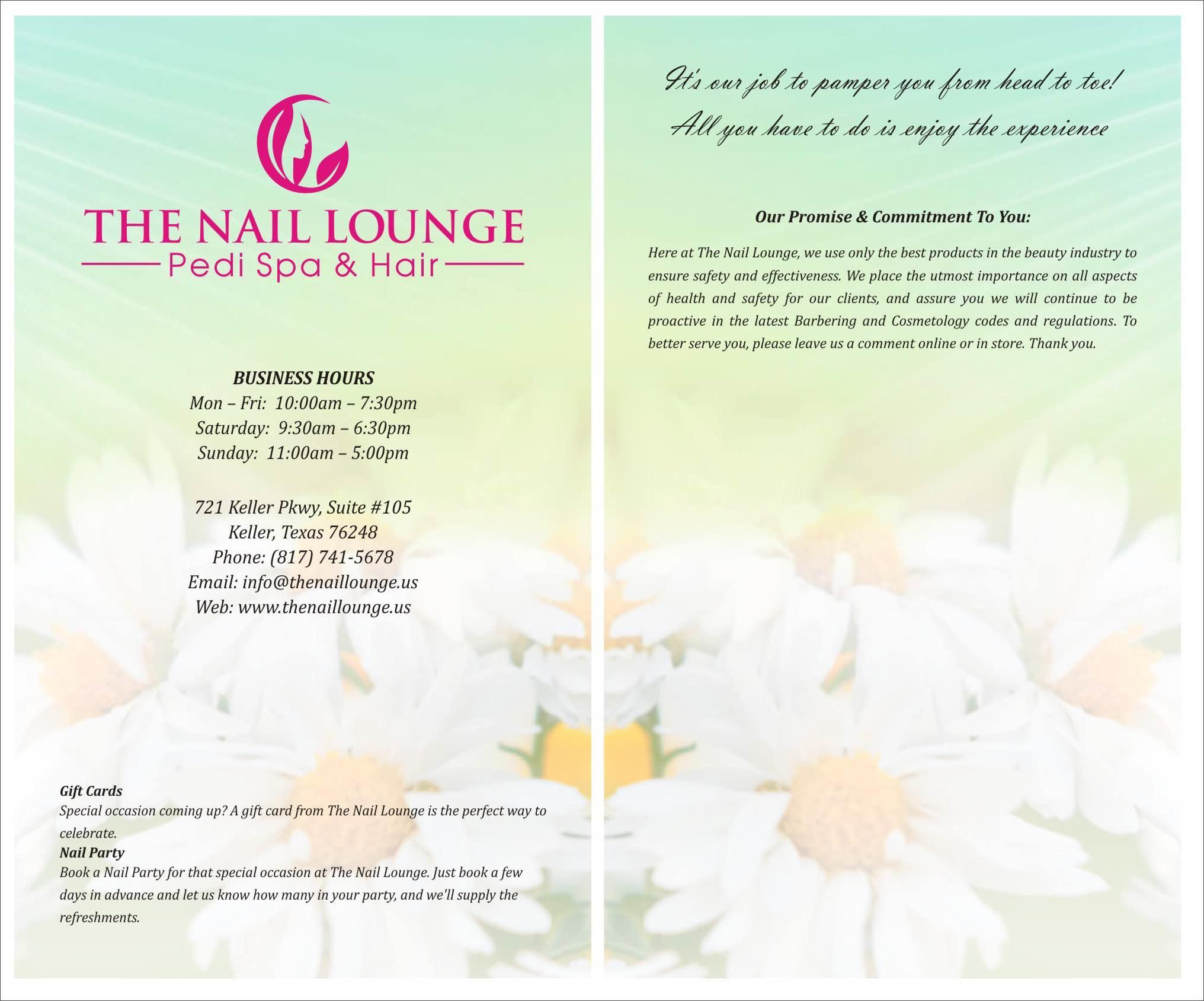 Den Nail Lounge Pedi Spa Hår I Keller, Tx 76248-8557