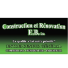 Construction et Rénovation E.B Inc