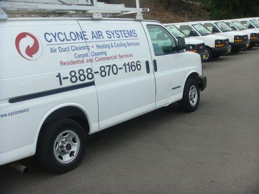 Air Duct Cleaning $99.00. Call (800) 662-6985 Cyclone Air Systems