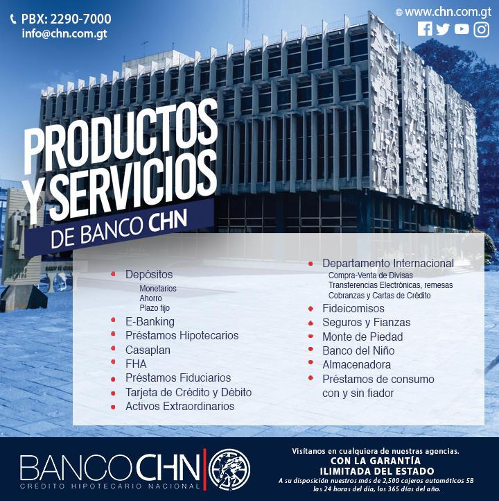 Banco CHN Agencia MAZATENANGO