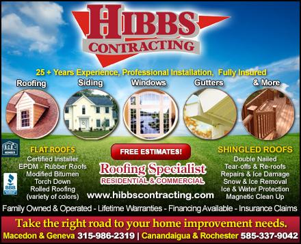 Hibbs Contracting In Canandaigua Ny 14424