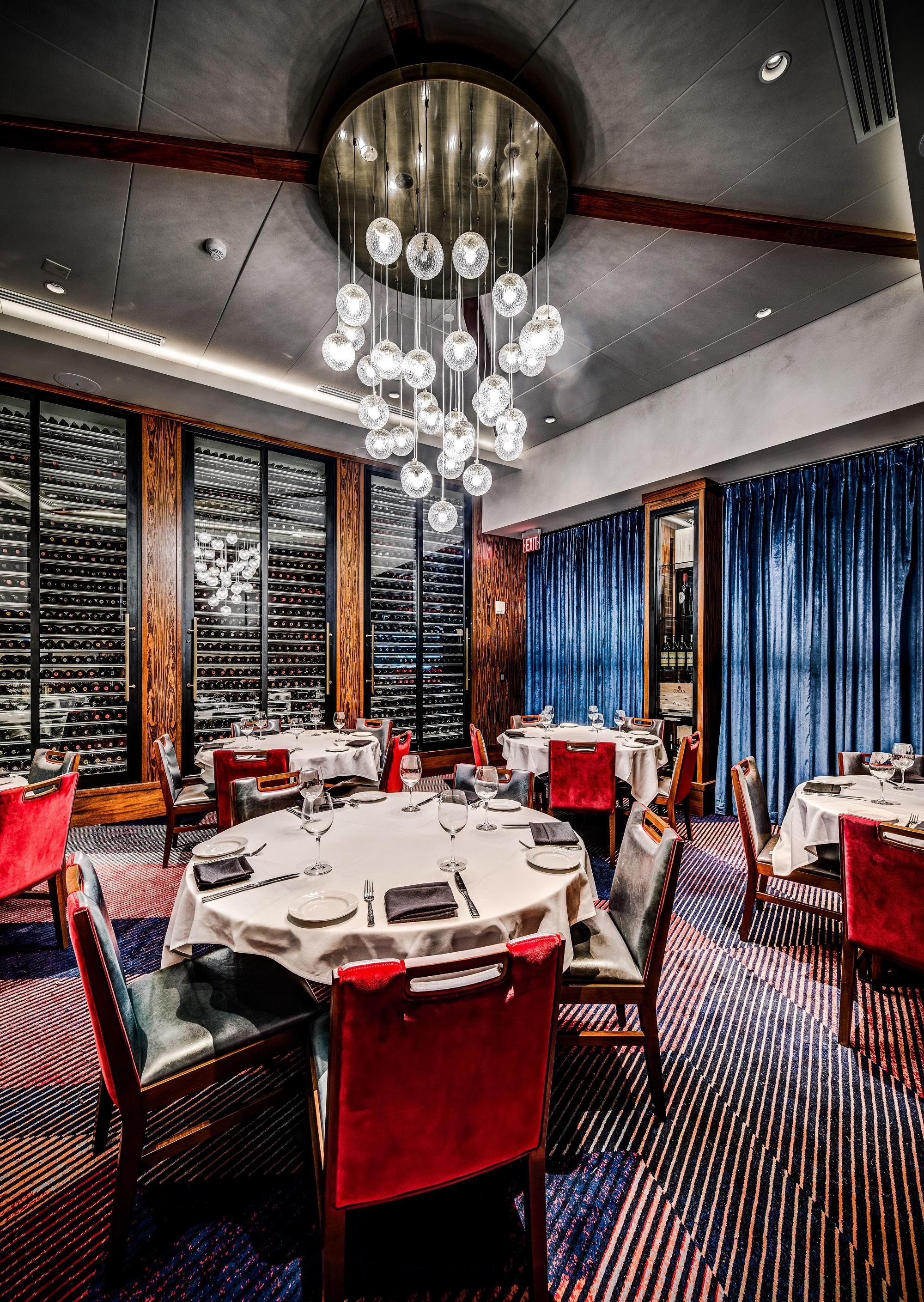 Del Frisco's Double Eagle Steakhouse Los Angeles Eagle Two private dining room