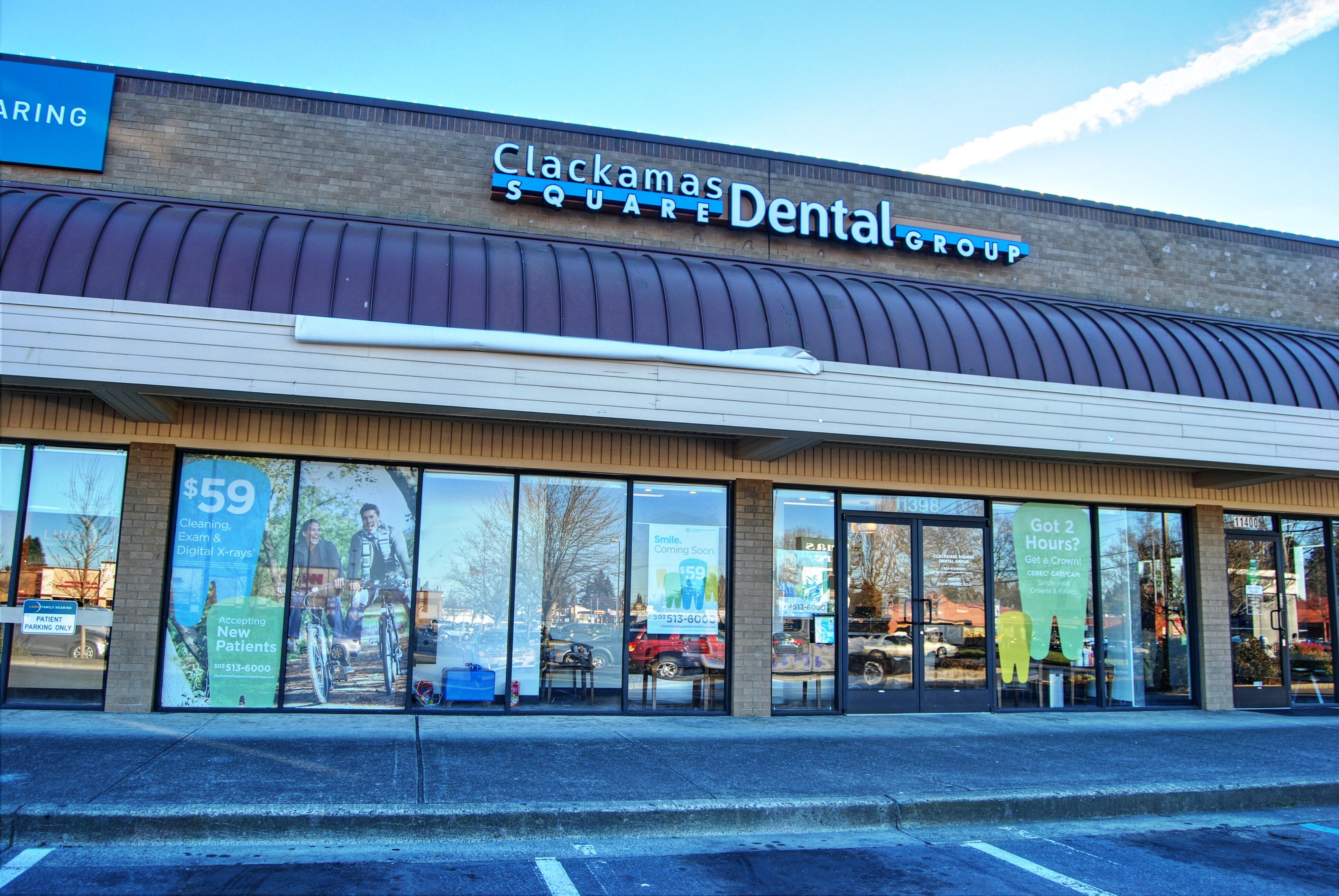 Clackamas Square Dental Group - ad image