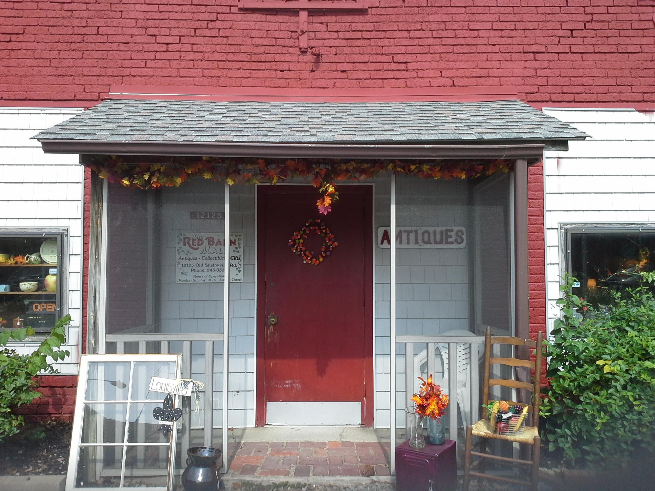 Red Barn Antique Art Emporium In Louisville Ky 40243