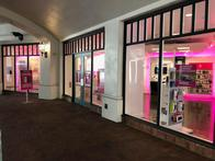 Exterior photo of T-Mobile Store at Paseo Nuevo Mall, Santa Barbara, CA
