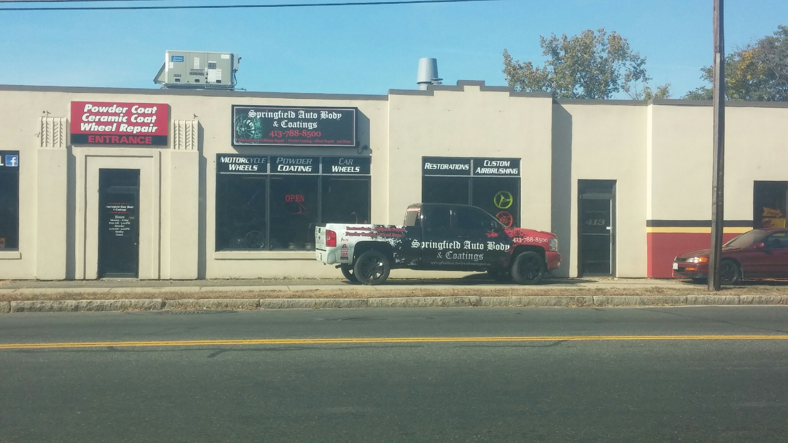 springfield auto body and coatings llc in springfield ma