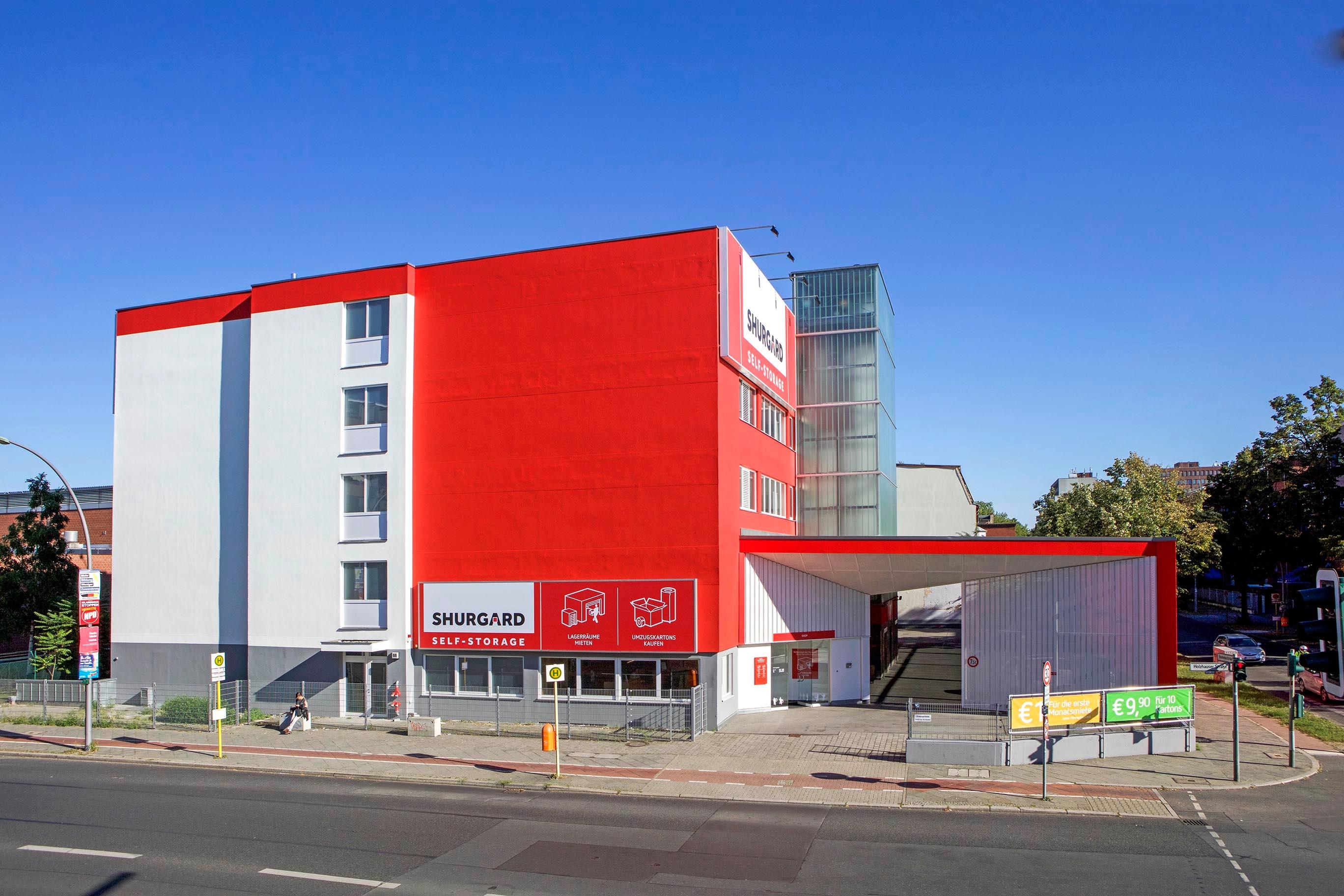 shurgard self storage berlin reinickendorf lagerhallen und hauptlager berlin deutschland. Black Bedroom Furniture Sets. Home Design Ideas