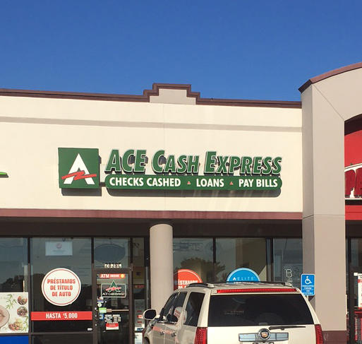 ACE Cash Express dopefurien.ga a leading retailer of financial services, including payday loans, consumer loans, check cashing, bill payment and prepaid debit card services. ACE is the largest owner and operator of check cashing stores in the United States.