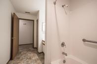 Tile Bathroom with Bath Tub