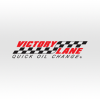 Victory Lane Quick Oil Change Logo