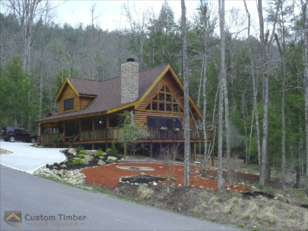 Custom Timber Log Homes image 20