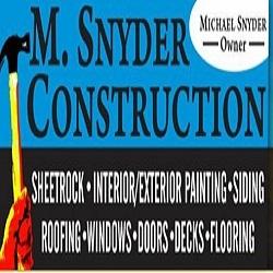 M Snyder Construction