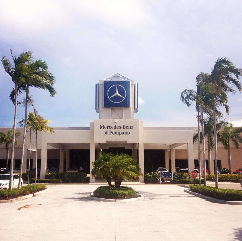 mercedes benz of pompano in pompano beach fl 954 644 4. Cars Review. Best American Auto & Cars Review