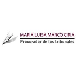 Procurador María Luisa Marco Ciria