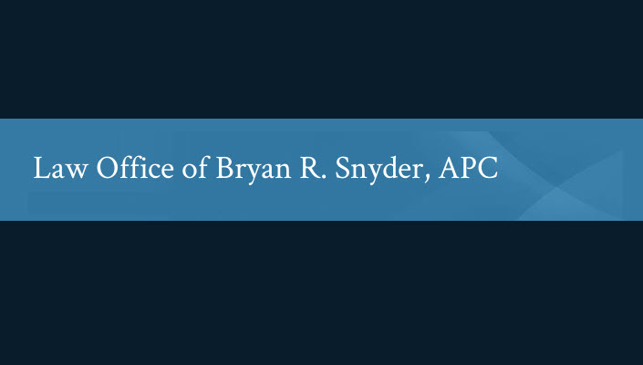 Law Office of Bryan R. Snyder, APC