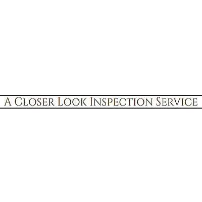 A Closer Look Inspection Service Inc.