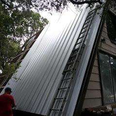 New Metal Roof Overlay
