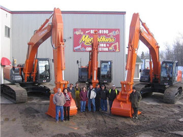 MacArthur's Paving & Construction Co Inc in Moncton