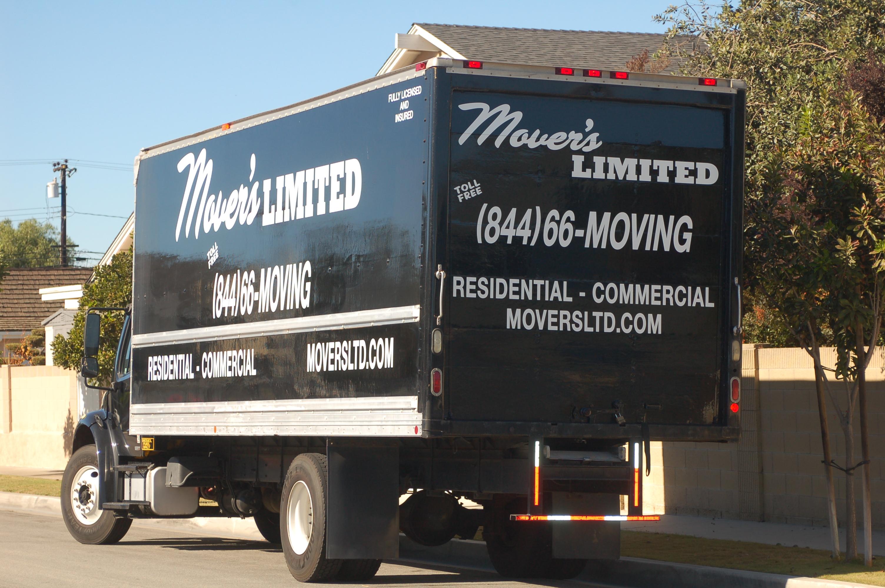 Movers Limited Huntington Beach