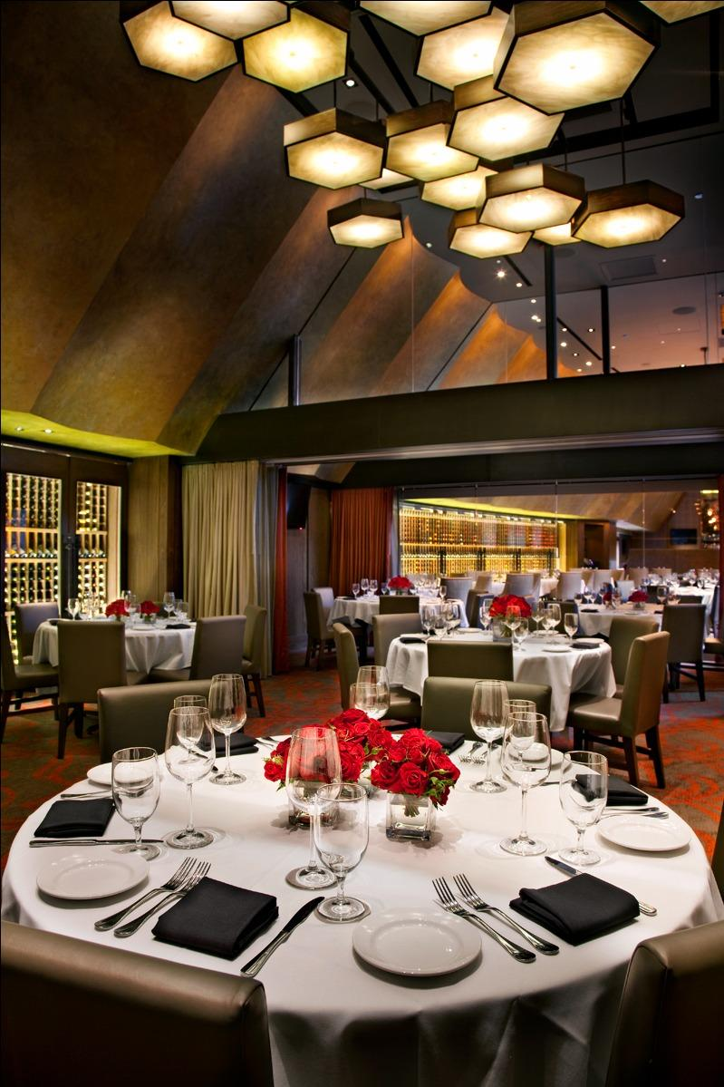 Del Frisco's Double Eagle Steakhouse Chicago Double Eagle Room private dining room
