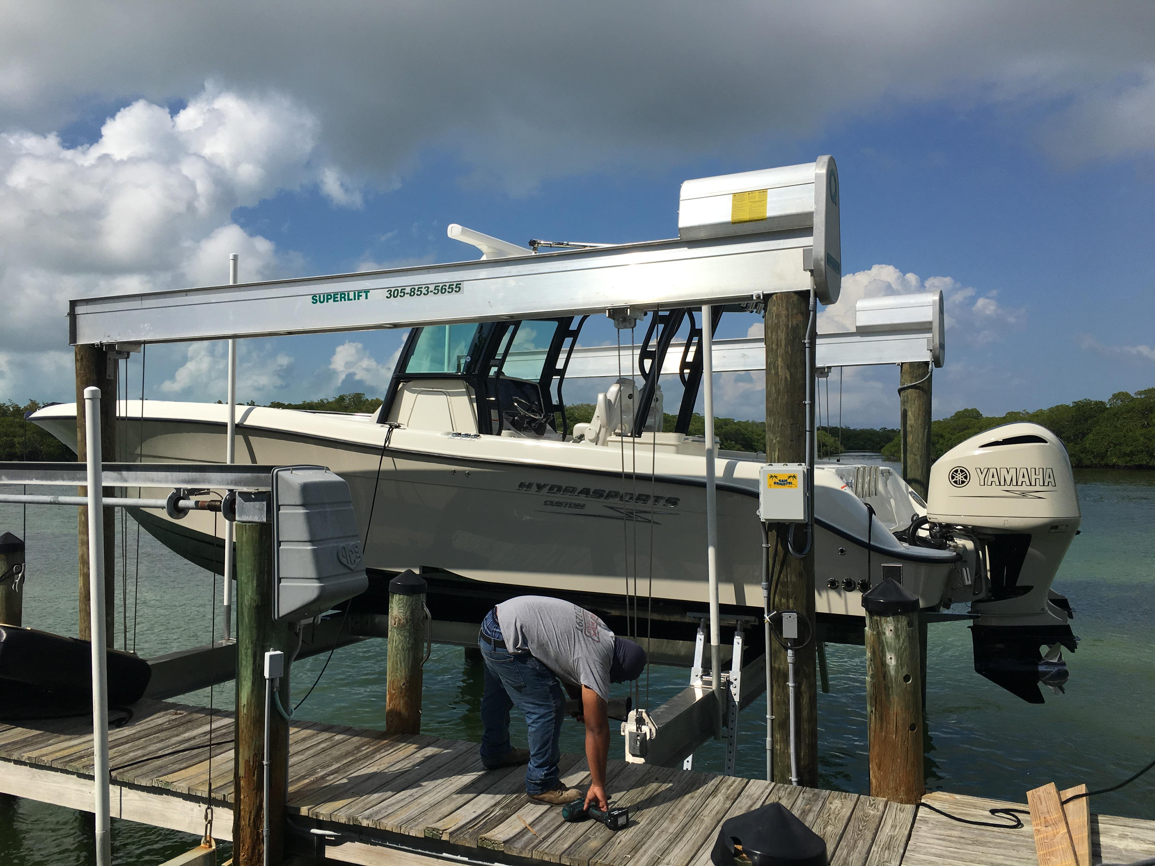 Boat lifts of south florida tavernier florida fl for Key largo buffet