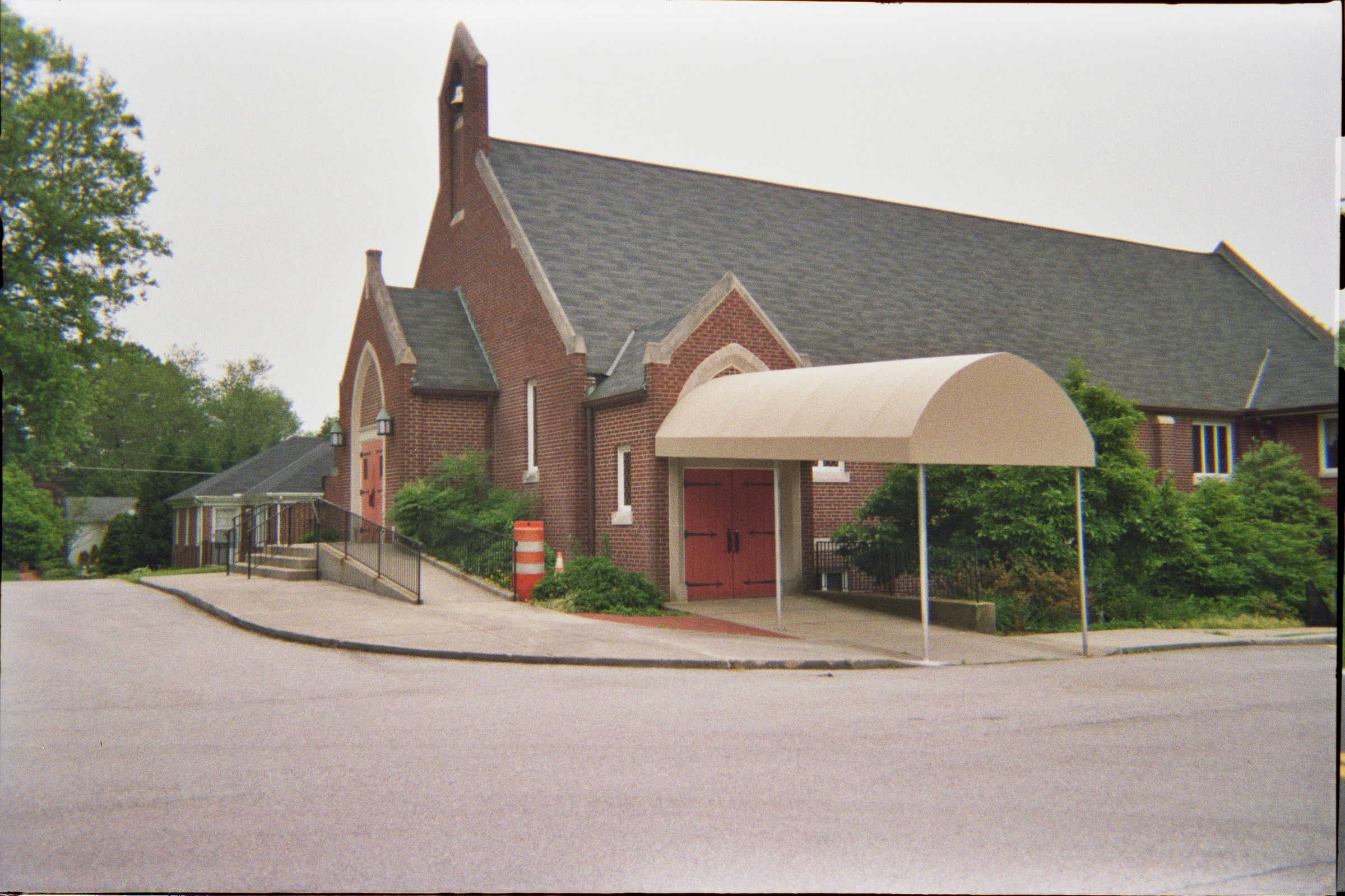 Call A. Hoffman Awning in Baltimore     410-685-5687 Church Awnings in Baltimore Entrance canopy providing shelter into the church