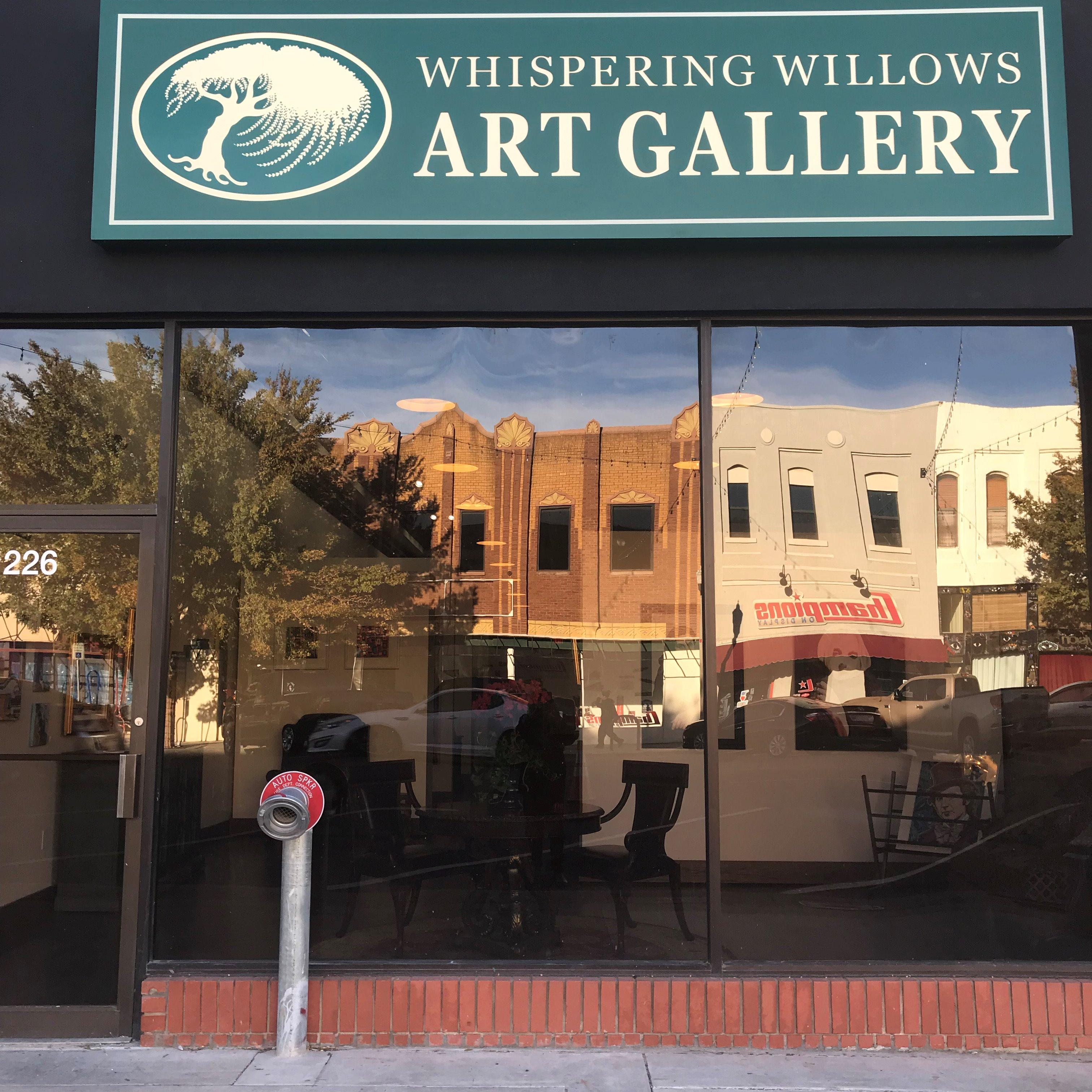 Whispering Willows Art Gallery
