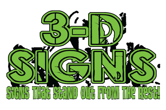 3-D Signs