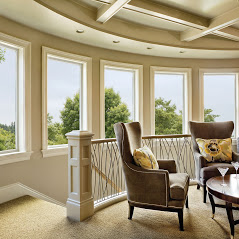 windows curved room