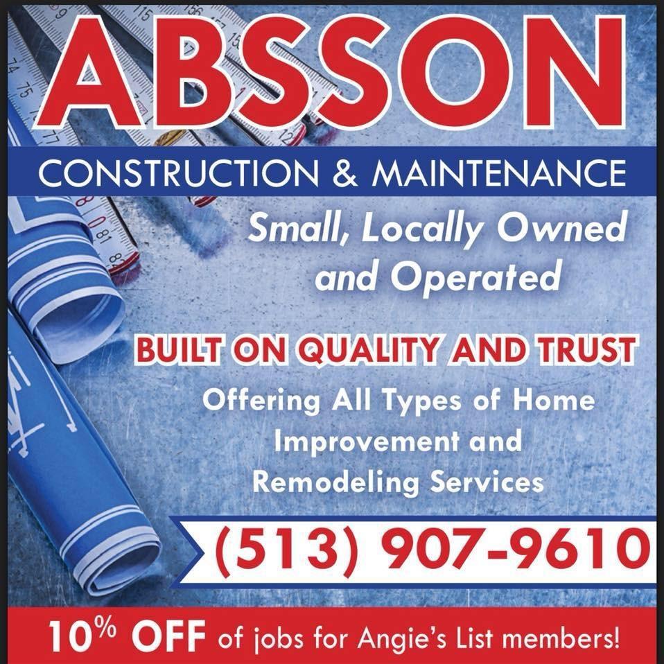 Absson Construction & Maintenance - Hamilton, OH - Home Centers