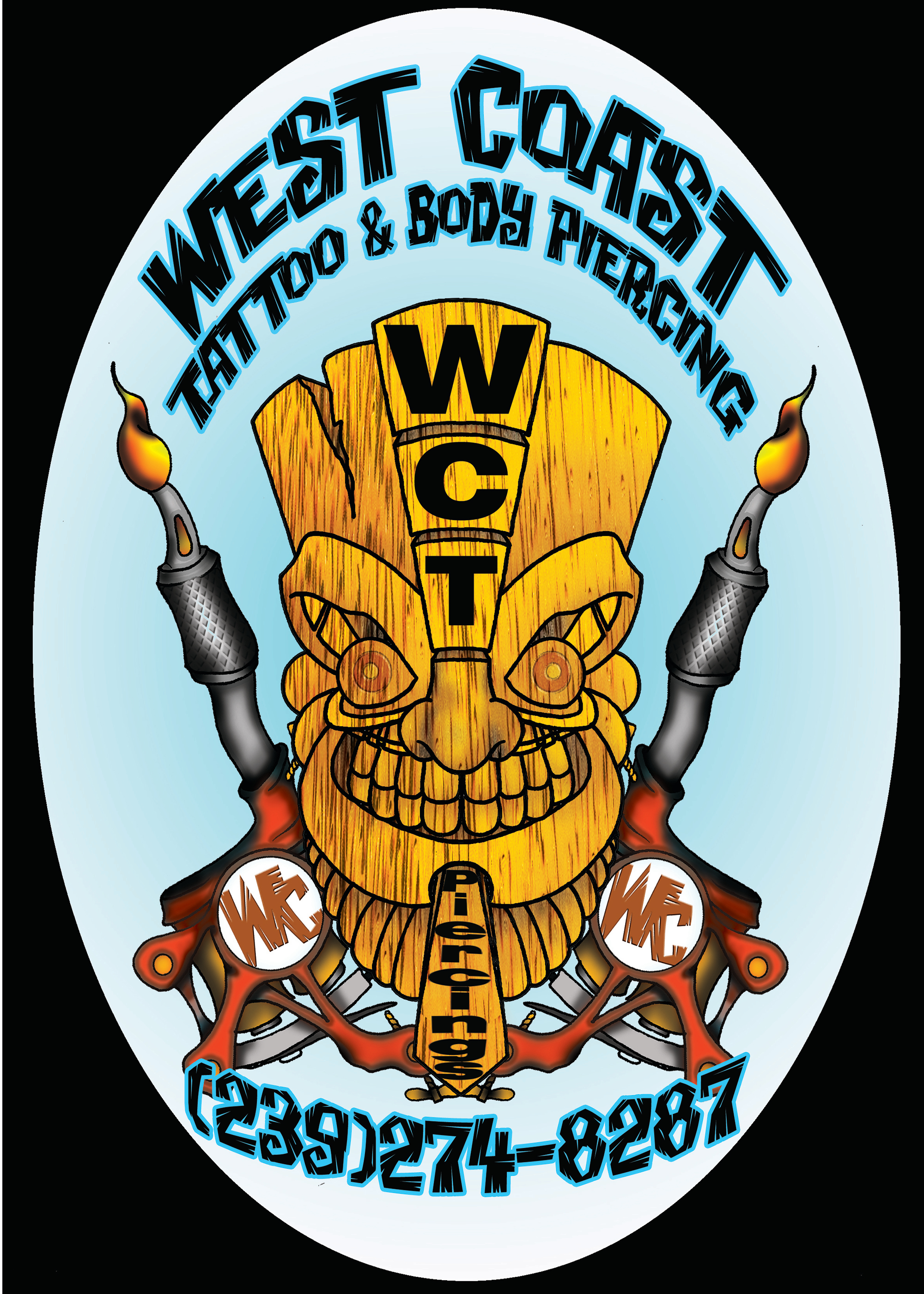 West coast tattoo in fort myers beach fl 33931 for Tattoo fort myers