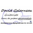David Galarneau Guitariste (cours de guitare Personnalisés)