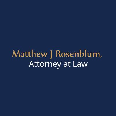 Matthew J Rosenblum, Attorney At Law