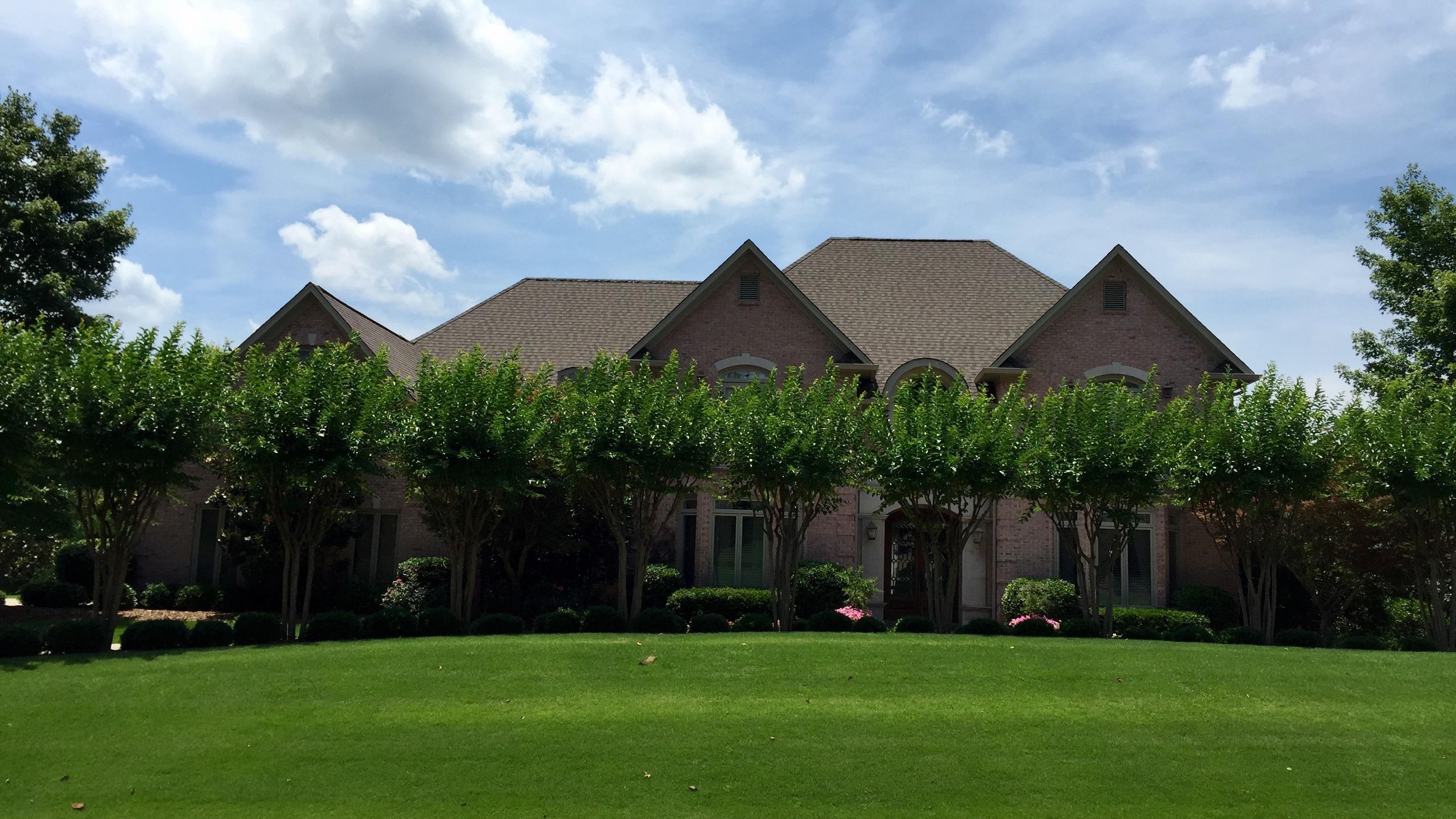 GAF American Harvest shingles installed by Capstone Roofing, LLC in Inverness, Alabama.