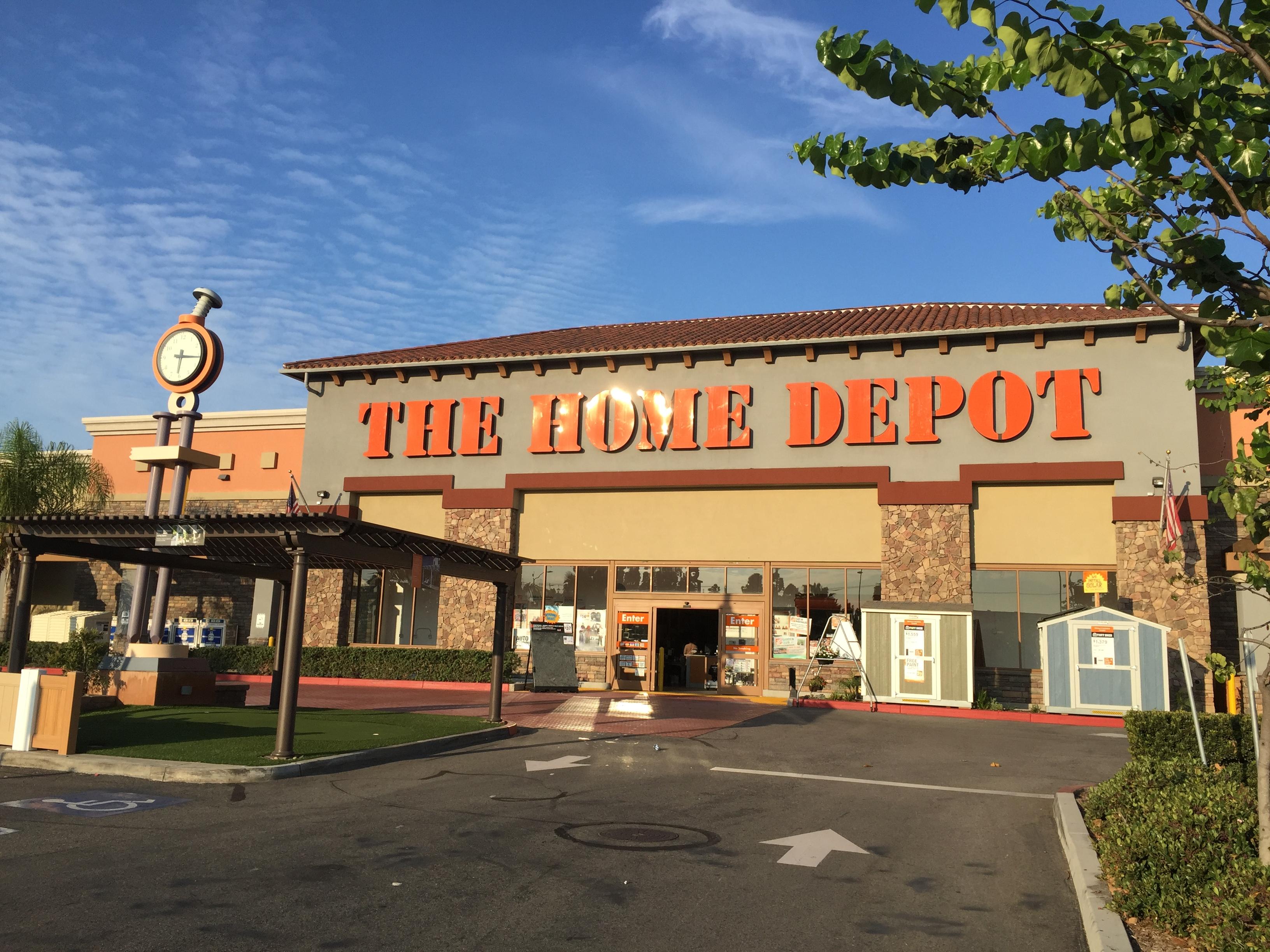 Home Depot Huntington Beach Store