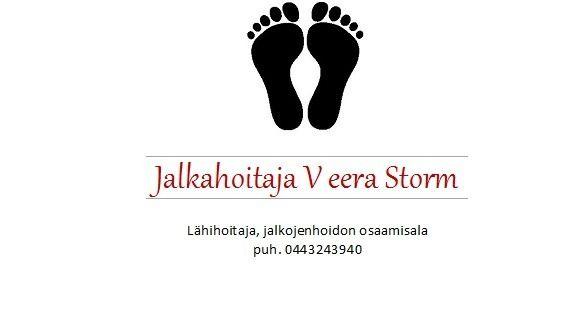 Jalkahoitaja Veera Storm