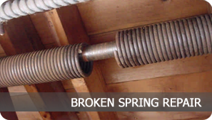 Garage Door Spring | Broken Spring Repair in Arlington, Fort Worth and Keller Texas.