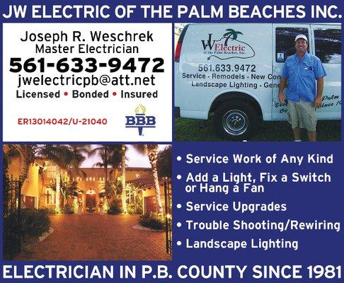 JW Electric of the Palm Beaches inc. - Lake Worth, FL
