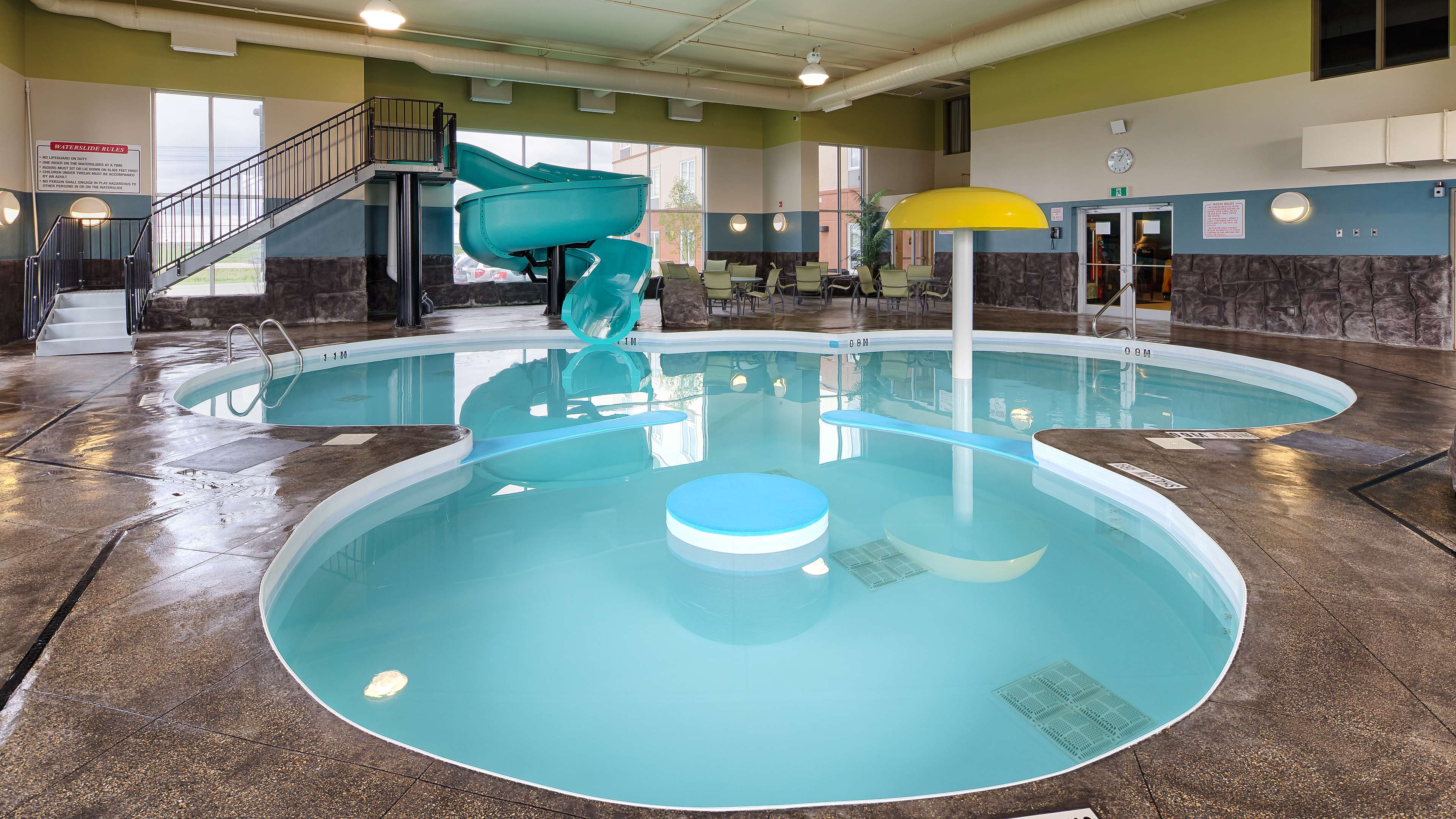 Our pool is a favourite with guests. Best Western Plus Winnipeg West Headingley (204)594-2200