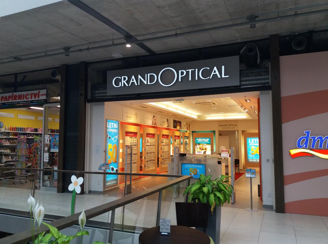 GrandOptical - oční optika Pivovar Děčín
