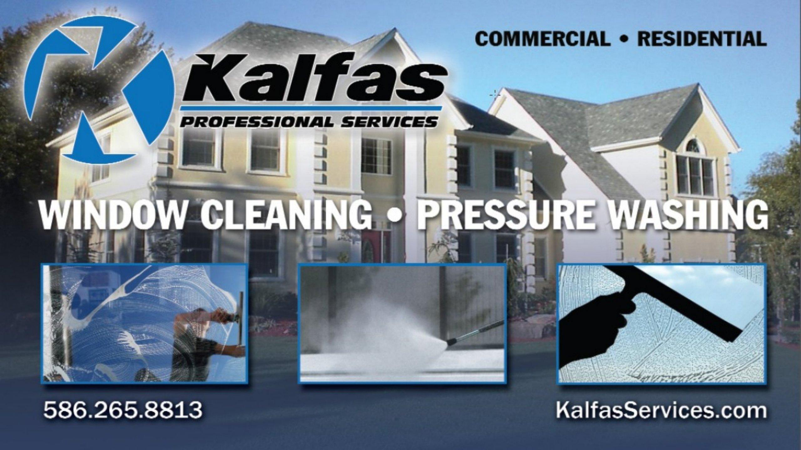 Kalfas Window Cleaning in Sterling Heights MI