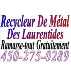 Recyclage de Métal des Laurentides Ramasse-Tout Gratuitement