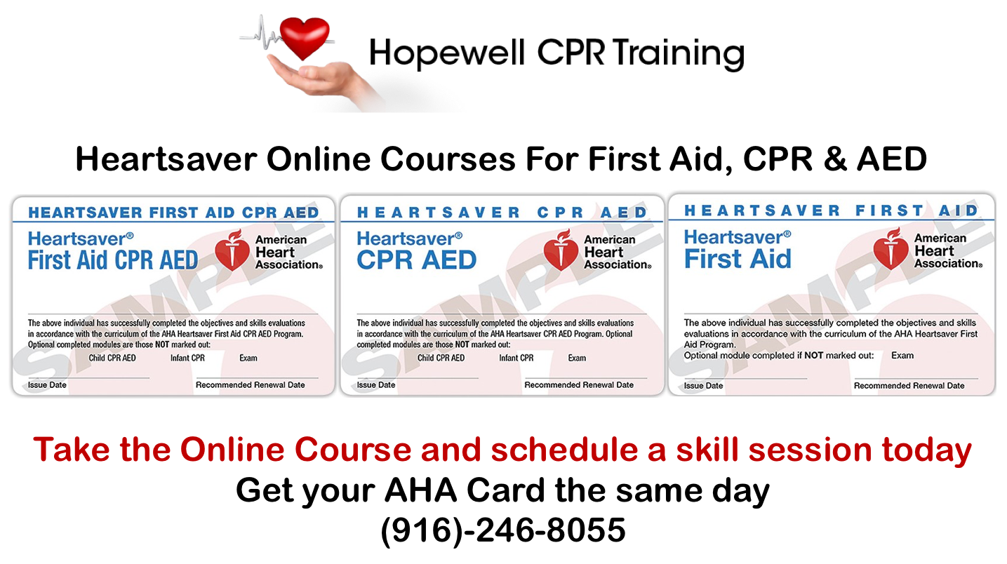 Hopewell Cpr Training In Sacramento Ca 95825 Chamberofcommerce